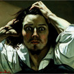 The desperate man self portrait 1845